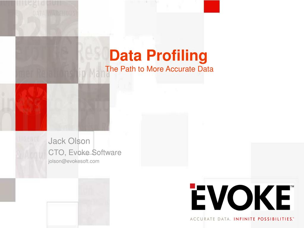 data profiling the path to more accurate data l.