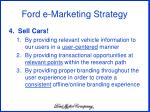 ford e marketing strategy11