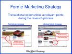 transactional opportunities at relevant points during the research process