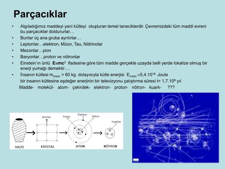 Parçacıklar