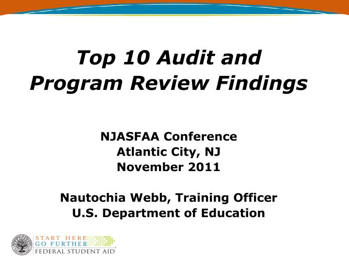 Top 10 Audit and
