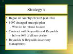strategy s