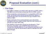 proposal evaluation cont1