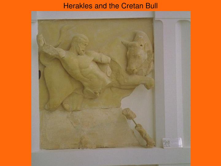 Herakles and the Cretan Bull