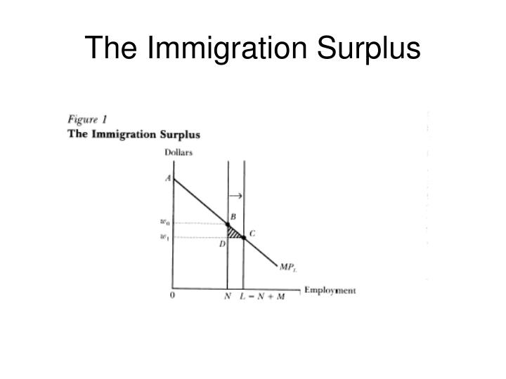 The Immigration Surplus