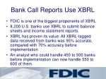 bank call reports use xbrl