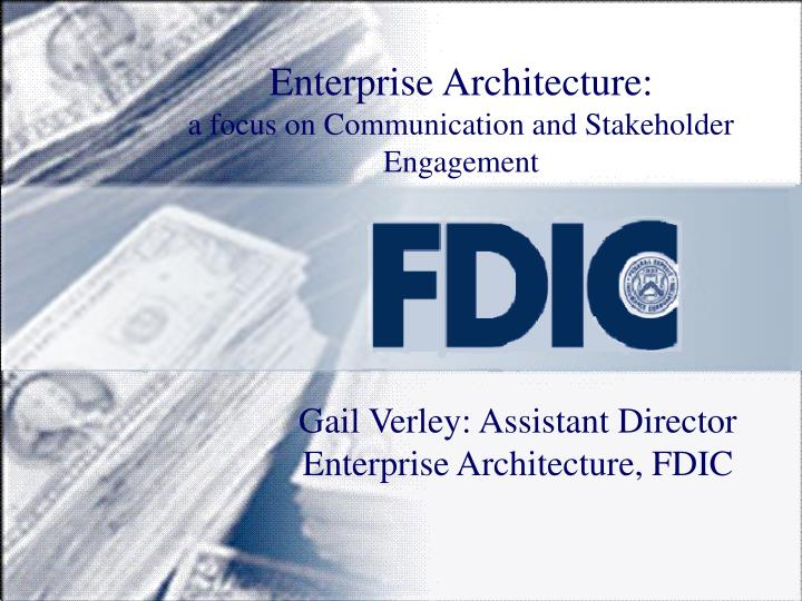 enterprise architecture a focus on communication and stakeholder engagement