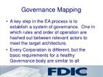 governance mapping