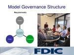 model governance structure