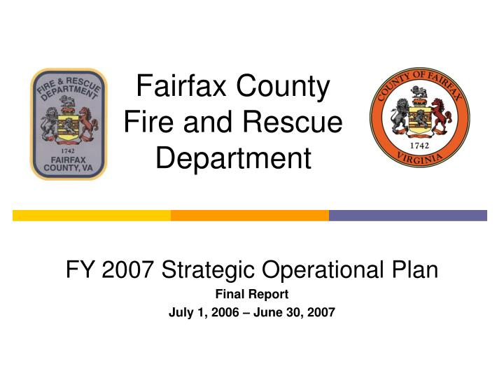 fairfax county fire and rescue department n.