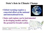 state s role in climate change