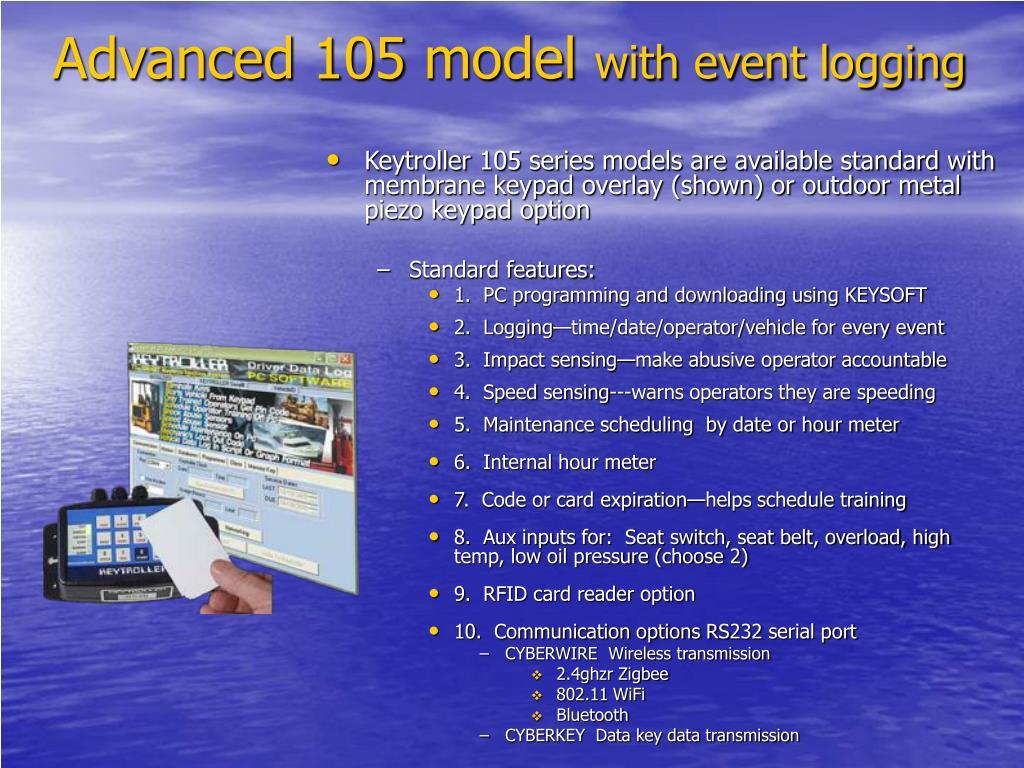 Advanced 105 model