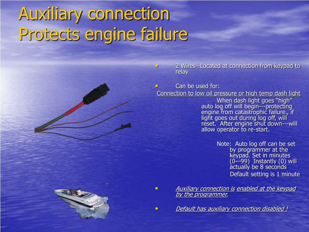 Auxiliary connection