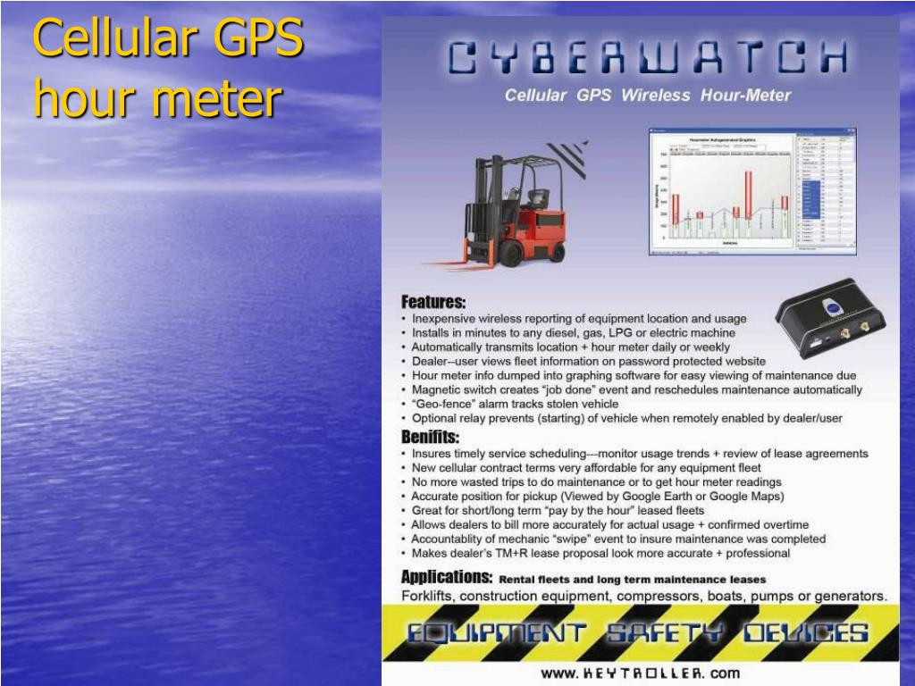 Cellular GPS