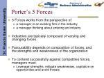 porter s 5 forces15