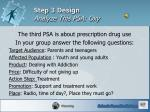 step 3 design analyze this psa oxy
