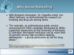 why social marketing