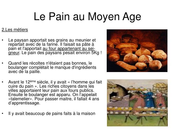 Le pain au moyen age1
