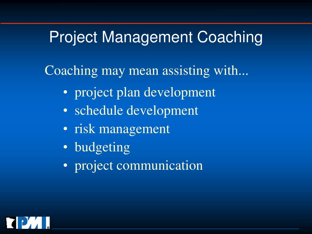 Project Management Coaching