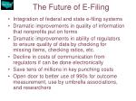 the future of e filing