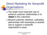 direct marketing for nonprofit organizations10