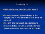 marketing 10134