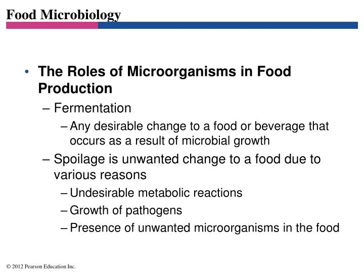 Food microbiology1