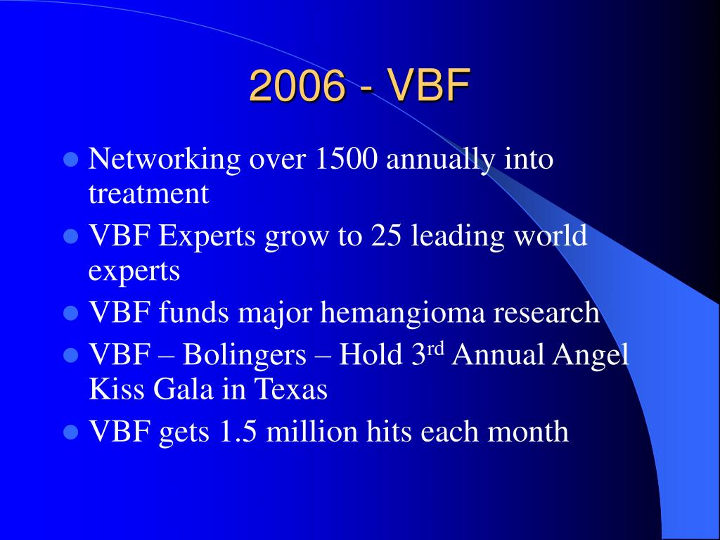 2006 - VBF
