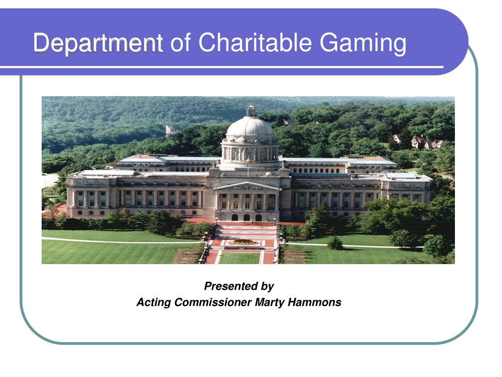 department of charitable gaming l.