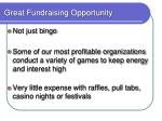 great fundraising opportunity