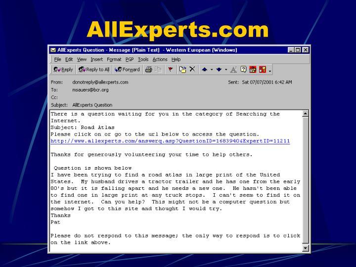 AllExperts.com