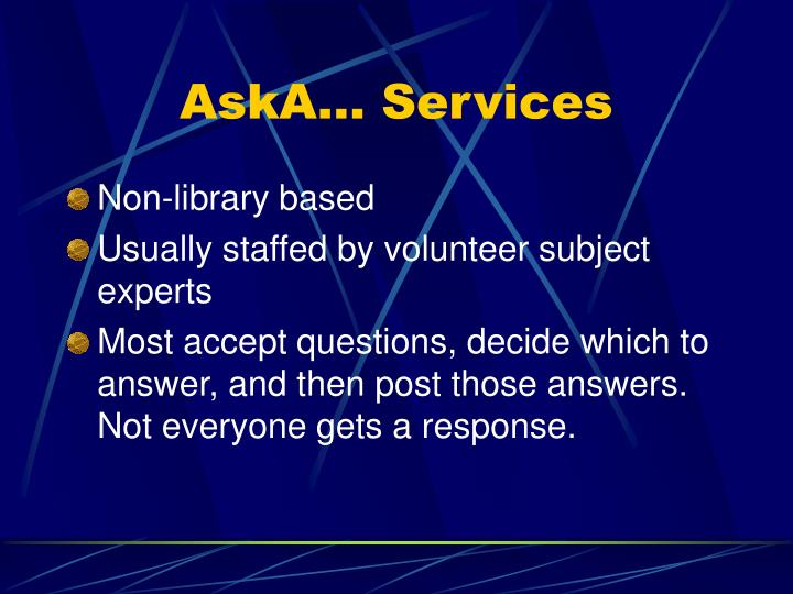 Aska services