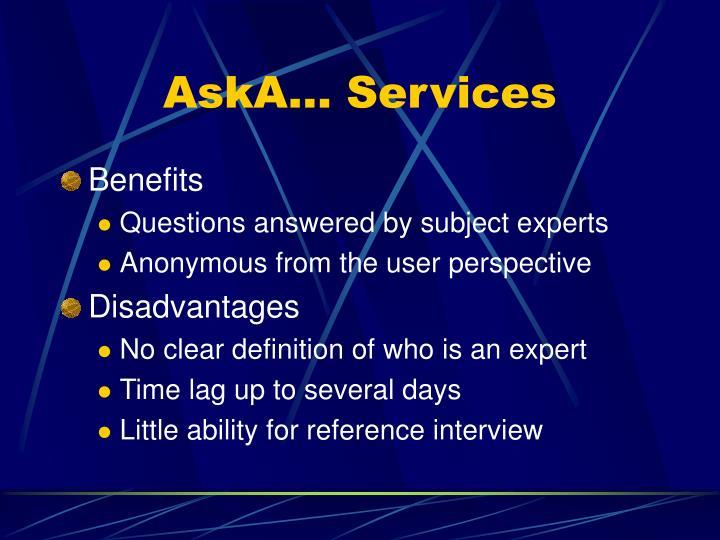 AskA… Services
