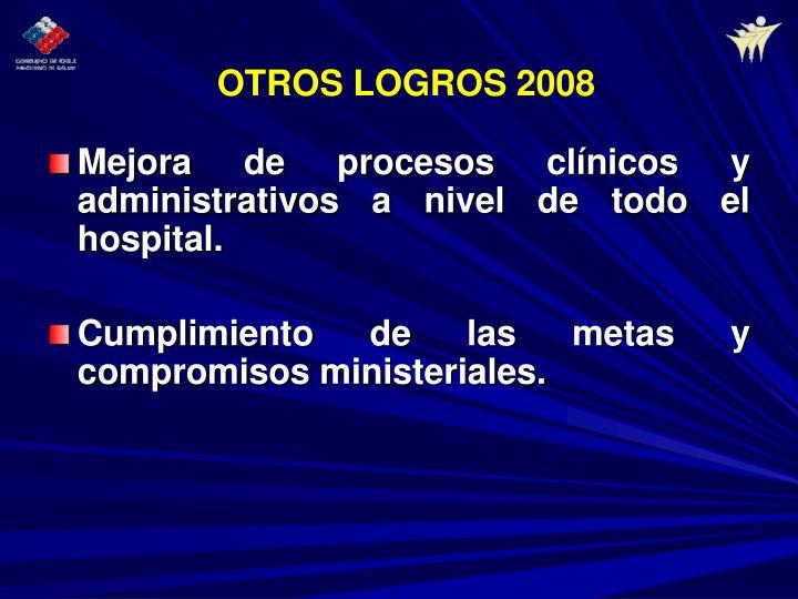 Mejora de procesos clínicos y administrativos a nivel de todo el hospital.