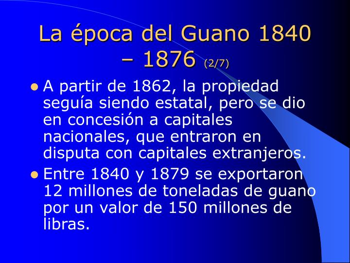 La poca del guano 1840 1876 2 7