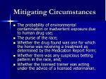 mitigating circumstances10
