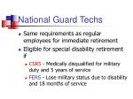 national guard techs
