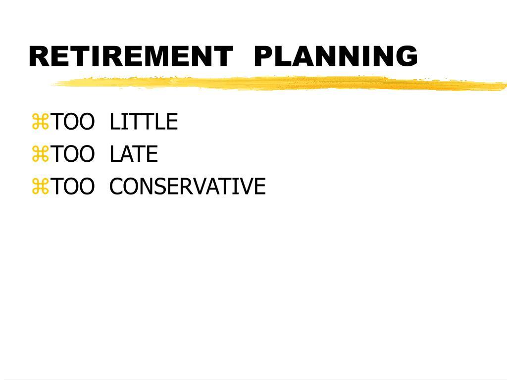 retirement planning l.