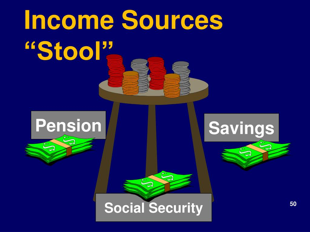 "Income Sources ""Stool"""