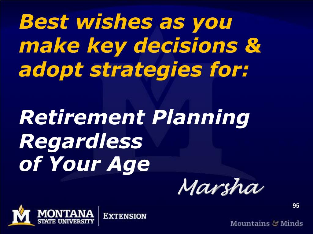 Best wishes as you  make key decisions & adopt strategies for: