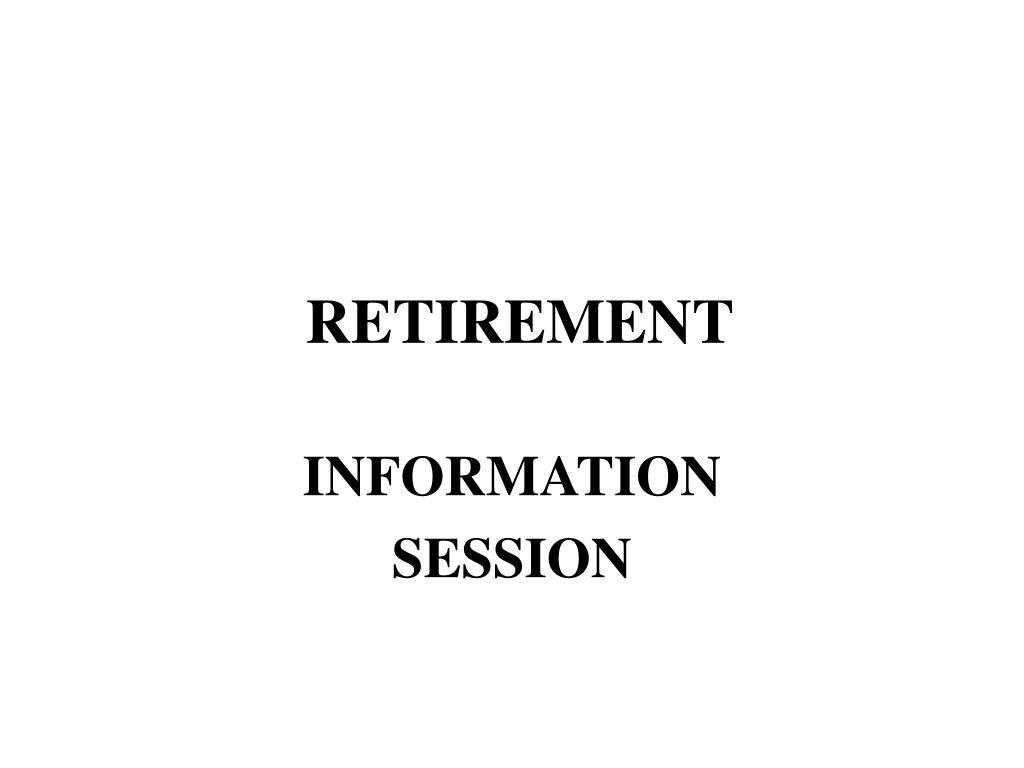 retirement l.