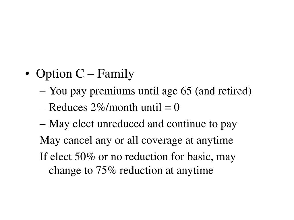 Option C – Family