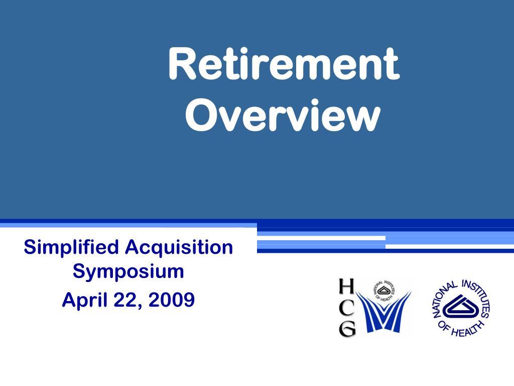 retirement overview l.