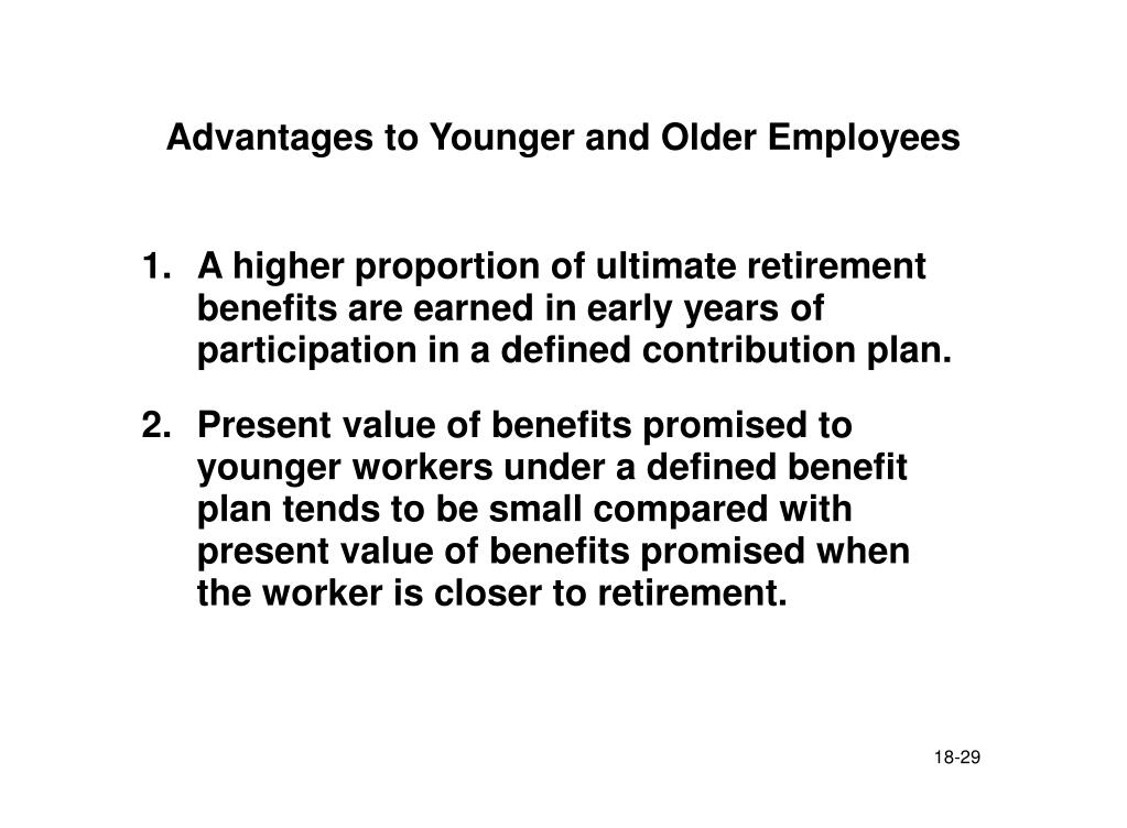 Advantages to Younger and Older Employees