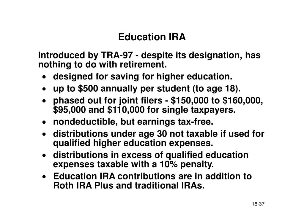 Education IRA