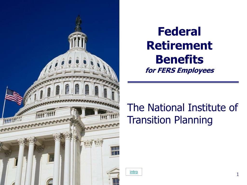 federal retirement benefits for fers employees l.