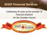 sisip financial services
