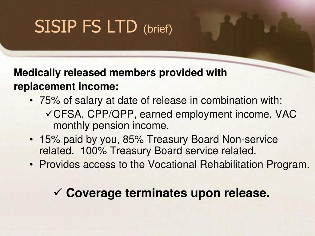 SISIP FS LTD