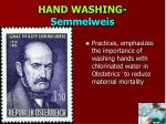 hand washing semmelweis