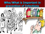who what is important in prevention of infections